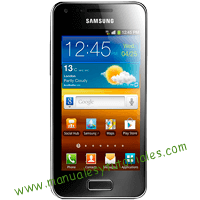 Samsung Galaxy S Advance Manual de usuario PDF español