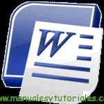 Microsoft Word 2007 Manual de Usuario PDF español