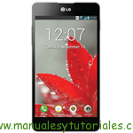 LG Optimus G Manual de usuario en PDF Español