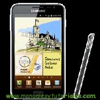 Samsung Galaxy Note Manual de usuario PDF español