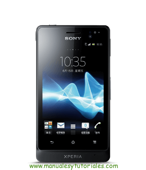 manual sony xperia go
