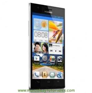 Manual de usuario Huawei Ascend P2 PDF Español Smartphone chinos