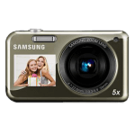 Samsung PL120 PL121 manual usuario pdf camara compacta