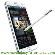 Samsung Galaxy Note II manual usuario pdf