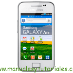 Samsung Galaxy Ace | Manual de usuario pdf español