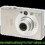 Canon Digital IXUS 70 manual guia usuario manual guia usuario stock footage picture stock