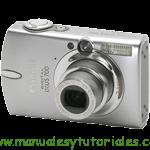 Canon Digital IXUS 700 manual guia usuario manual guia usu