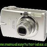 Canon Digital IXUS 750  manual guia usuario manual guia usuario stock footage picture stock