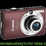 Canon Digital IXUS 80 IS y 82 IS manual guia usuario manual guia usuario stock footage picture stock