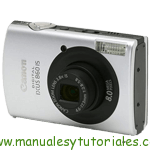 Canon Digital IXUS 860 IS manual guia usuario manual guia usuario stock footage picture stock