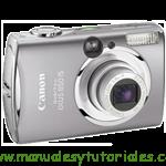 Canon Digital IXUS 850 IS manual guia usuario manual guia usuario stock footage picture stock