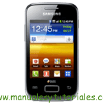 Samsung Galaxy Y Duos manual usuario pdf