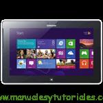 Samsung ATIV Tab P8510 manual usuario pdf