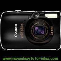 Canon Digital IXUS 980 IS Manual de usuario en PDF español