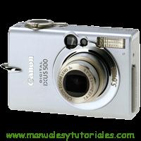 Canon IXUS 500 Manual de usuario PDF español