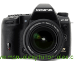 Olympus E-30 manual usuario pdf