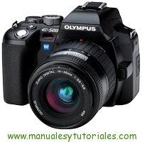 Olympus E-500 Manual de usuario PDF español
