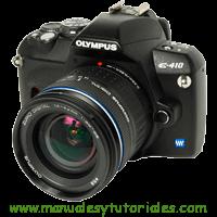 Olympus E-410 Manual de usuario en PDF Español