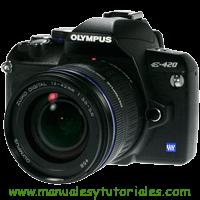 Olympus E-420 Manual de usuario en PDF Español