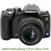 Olympus E-510 Manual de usuario en PDF