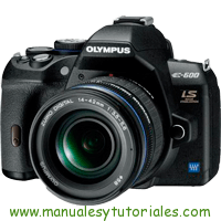 Olympus E-600 Manual de usuario en PDF