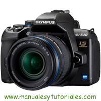 Olympus E-620 Manual de usuario en PDF