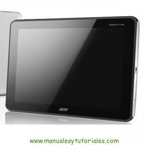 Manual usuario PDF Acer Iconia A701