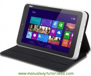 Manual usuario PDF Acer Iconia W3-810