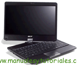 Manual usuario PDF Acer Aspire 1425p