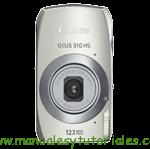 Canon IXUS 310 HS | Guía y manual de usuario en PDF español
