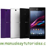 Sony Xperia Z Ultra | Manual de usuario en pdf español