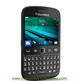 Manual usuario Blackberry 9720 PDF