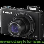 Canon PowerShot S120 | Guía y manual de usuario en PDF español