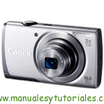 Canon PowerShot A3500 IS | Guía y manual de usuario en PDF español