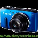 Canon PowerShot SX270 HS   Guía y manual de usuario en PDF español