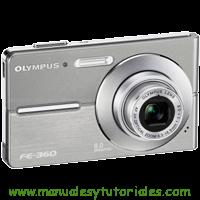 Olympus FE-360 Manual de usuario en PDF Español