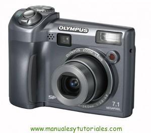 Olympus SP-320 manual de usuario pdf