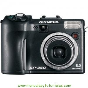 Olympus SP-350 manual de usuario pdf