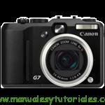 Canon PowerShot G7 |Manual de usuario en PDF español
