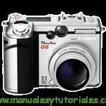 Canon PowerShot G6 | Guía y manual de usuario en PDF español