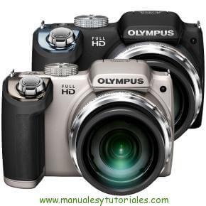 Olympus SP-720 UZ | Manual y guía de usuario en PDF Español