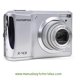 Olympus X-43 | Manual y guía de usuario en PDF Español