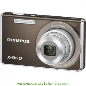 Olympus X-960 | Manual y guía de usuario en PDF Español