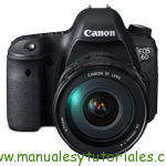 Canon EOS 6D | Guía y manual de usuario en PDF español