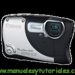 Canon PowerShot D20 | Guía y manual de usuario en PDF español