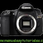 Canon EOS 60Da | Guía y manual de usuario en PDF español