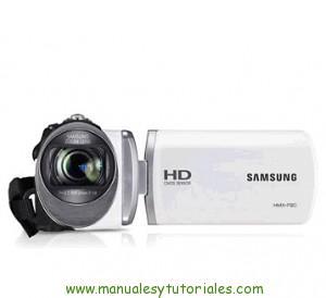 Samsung HMX-F90BP | Manual de usuario en PDF Español