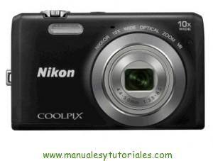 Nikon Coolpix S6200 | Manual y guía de usuario en PDF Español
