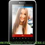 Lenovo A7-30 | Guia de usuario pdf español