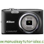 Nikon Coolpix S2750 Manual de usuario en PDF